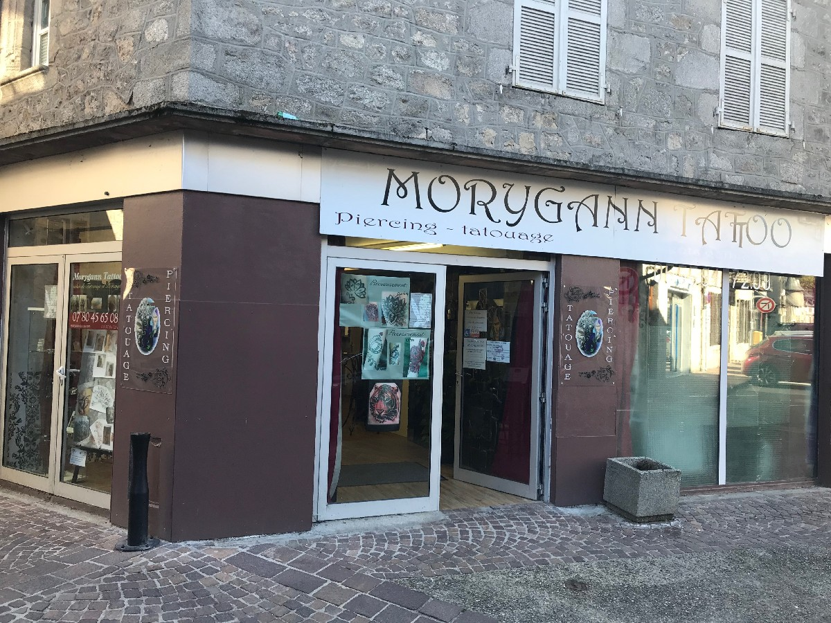 magasin tattoo à Ussel | Morygann Tattoo